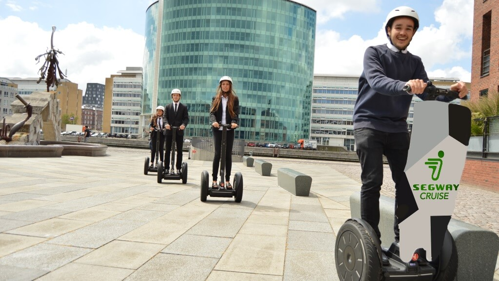Guided Segway cruise in Copenhagen