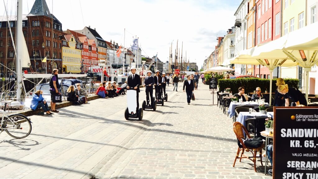Guided Segway tours in Copenhagen city center