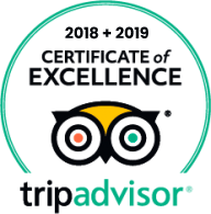 Segway Cruise Copenhagen received the Certification of Excellence from TripAdvisor